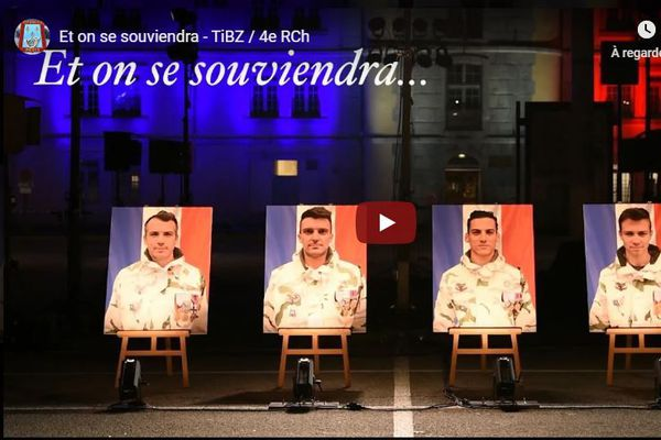 LRomain Chomel De Jarnieu, Alexandre Protin, Antoine Serre, Valentin Duval morts au Mali le 25 novembre 2019.