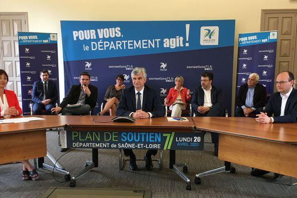 Le département de Saône-et-Loire annonce un plain d'aide de 50 millions d'euros