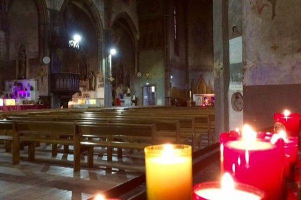 L'église des Carmes à Carcassonne