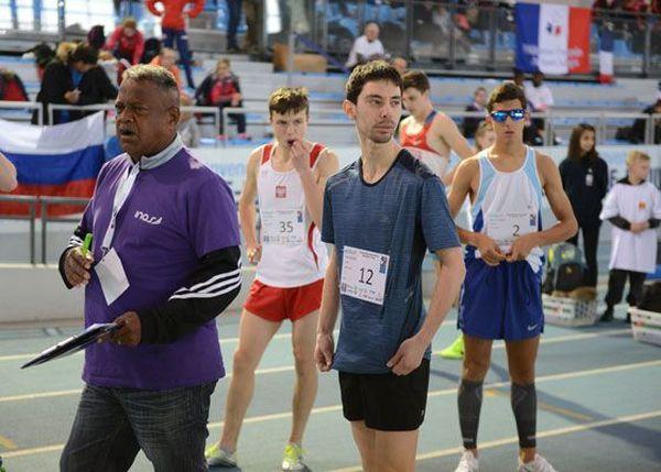 Saby Chevalme, sportif de Val-de-Reuil, spécialiste du 800 et 1500 mètres