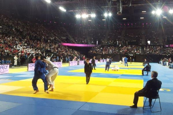 Montpellier : les championnats de France de judo 2012 - 25 novembre 2012.