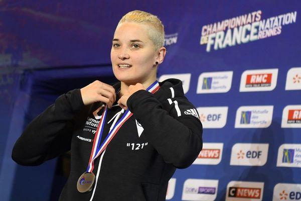 Mélanie Henique a décroché l'argent sur 50m nage libre lors des championnats de France 2019, qui ont eu lieu du 16 au 21 avril à Rennes.