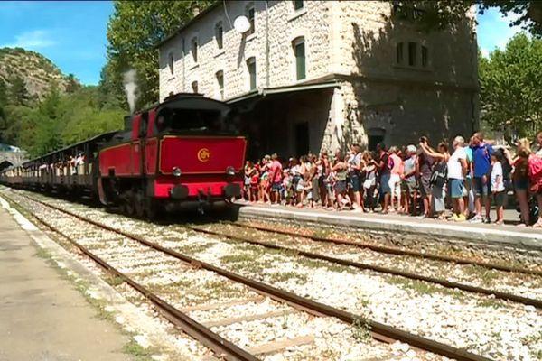 Le train à vapeur d'Anduze a ouvert en 1909.