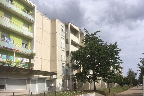 Le quartier du Clou-Bouchet à Niort