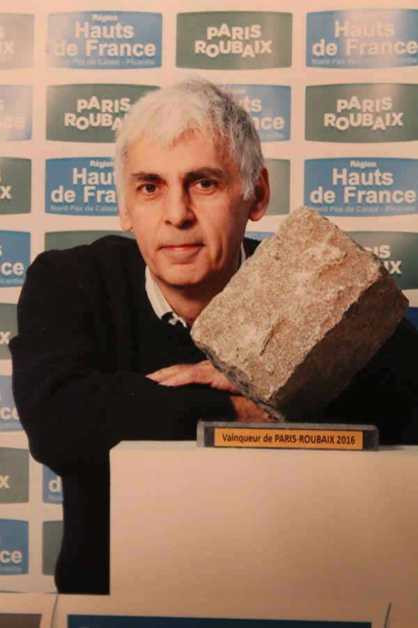 Pascal Sergent, spécialiste de l'histoire du cyclisme.