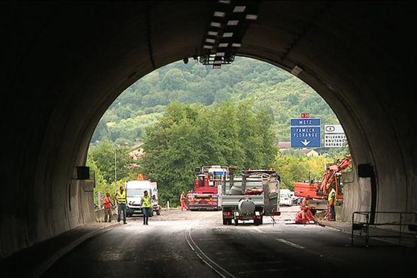 Le tunnel d'hayange rouvrira le 25 août