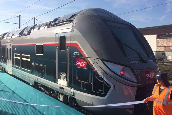 L'Omneo Premium dévoilé dans l'usine Bombardier de Crespin (59)