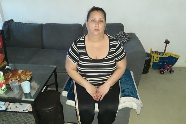 Sofia Lefournier redoute plus que tout ce troisième confinement dans son appartement du Breil à Nantes