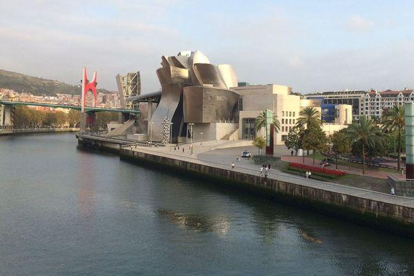 Le musée d'art moderne Guggenheim de Bilbao, au Pays basque, vient de rouvrir ses portes