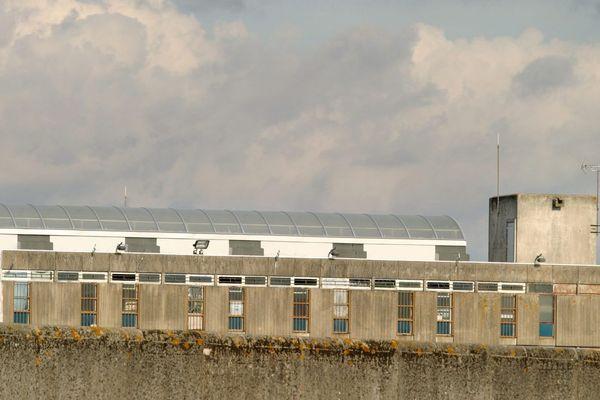 La prison de Saint-Maur (Indre), où l'un des suspects se trouvait déjà incarcéré au moment de son interpellation.