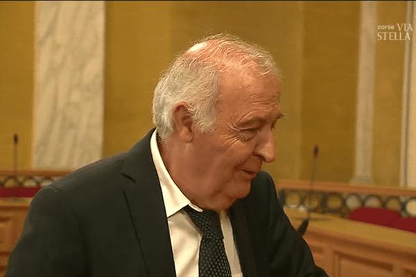 Pierre-Jean Luciani, président du Conseil départemental de Corse-du-Sud