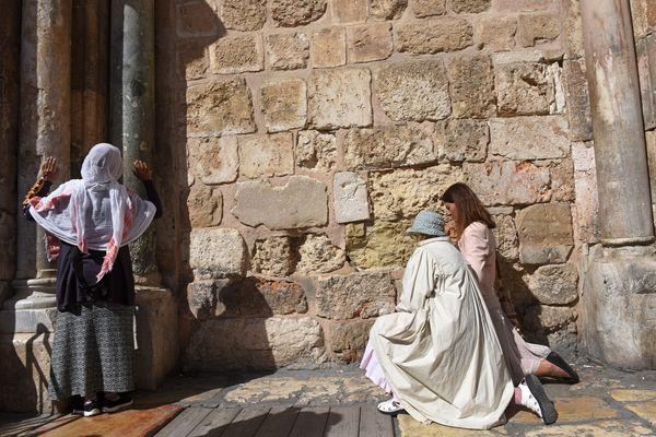 Christine a grandi dans le quartier du Saint-Sépulcre de Jérusalem