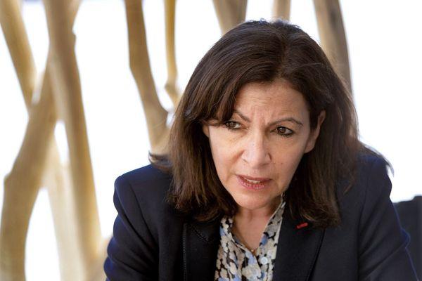 Anne Hidalgo à Montpellier en mai 2021 (illustration).