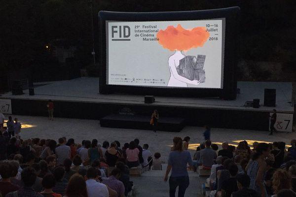 Ouverture du FIDMarseille 2018 au théâtre Silvain