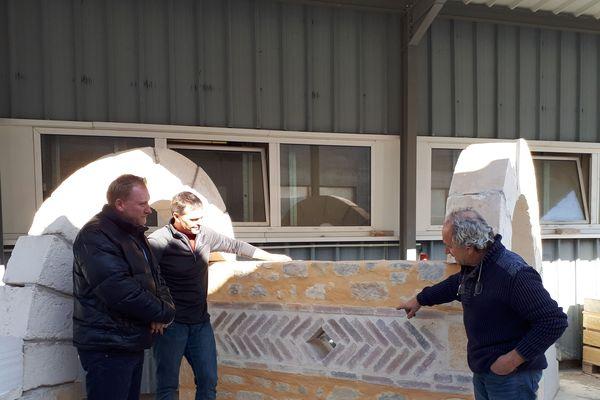 Journée Portes ouvertes AFPA Gap (05) Atelier de maçonnerie