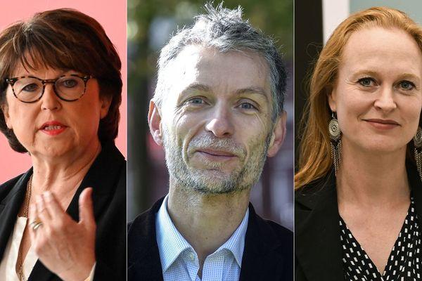 Aubry, Baly, Spillebout : l'ordre est le même dans les deux sondages, pas les scores