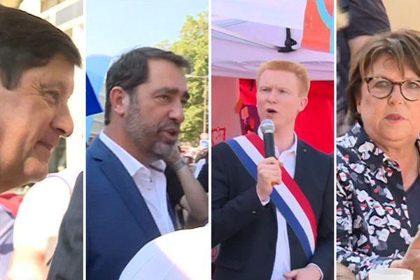 Des élus locaux de tous les partis se sont croisés à la Braderie.