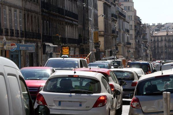 Les abords de la place Castellane et du Ront-Point du Prado seront saturés cet après-midi.