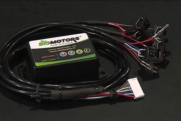Un exemple de boîtier Bioéthanol pour véhicule essence.