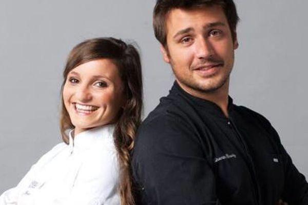 """Quentin Bourdy et Noémie Honiat (L'Univers) - anciens candidats """"Top Chef"""""""