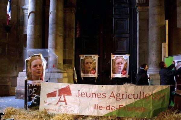 Les agriculteurs de la région manifestaient à Paris le 3 février 2012.