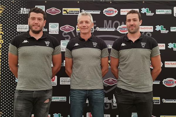La présentation du nouveau staff du Stade Montois Rugby
