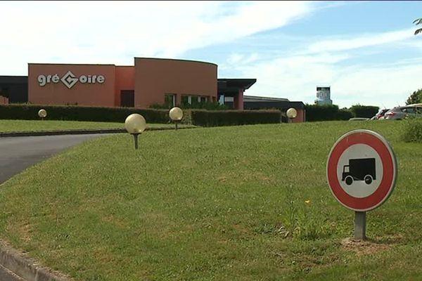 Le site de l'entreprise Grégoire à Saint-Martial d'Artenset, en Dordogne.