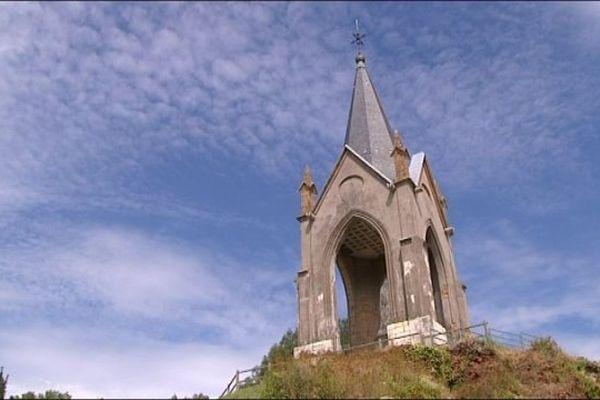 La Motte, un site qui domine Vesoul.