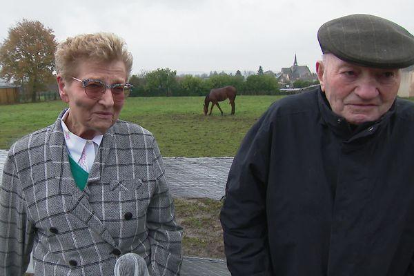 Monique et Robert Gasche-Luc, les propriétaires sarthois de Docteur de Ballon.