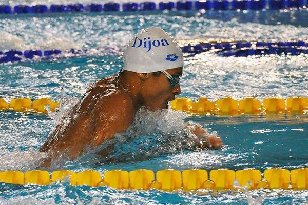 Sébastien Kouma au 100 m 4 nages.