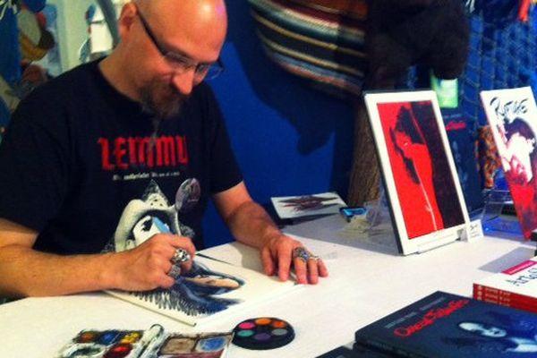 Alain Poncelet, auteur belge, l'un des invités du festival de Dieppe