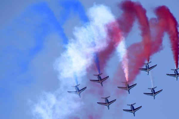 La patrouille de France pour la quatrième fois à Pornic