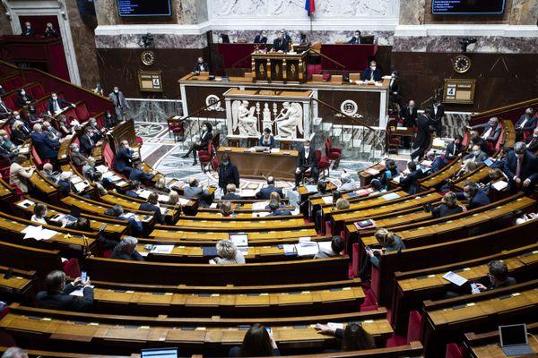 Séance de question au Gouvernement dans l'hémicycle. Photo d'illustration