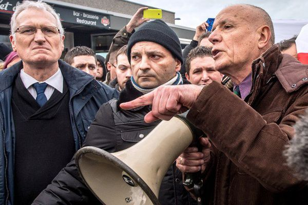 Christian Piquemal, le samedi 6 février 2016 à Calais.