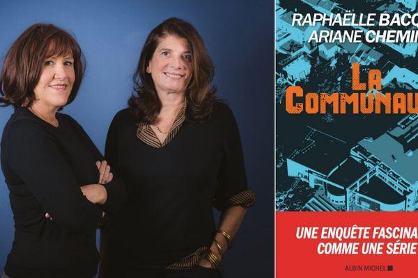 """Les journalistes Raphaëlle Bacqué et Ariane Chemin ont remporté la première édition du prix littéraire et de reportage Hervé Ghesquière, avec leur livre """"La communauté""""."""