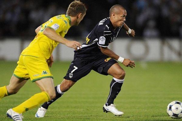 Dernière rencontre entre Bordeaux et Nantes en 2008 avec Yoan Gouffran et David de Freitas à l'image. Bordeaux l'avait emporté 2 à 0.