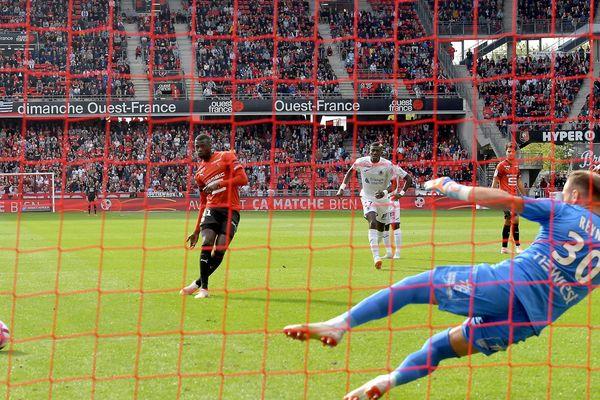 Toulouse a fait un match nul (1-1) à Rennes lors de la 8 ième journée de Ligue 1