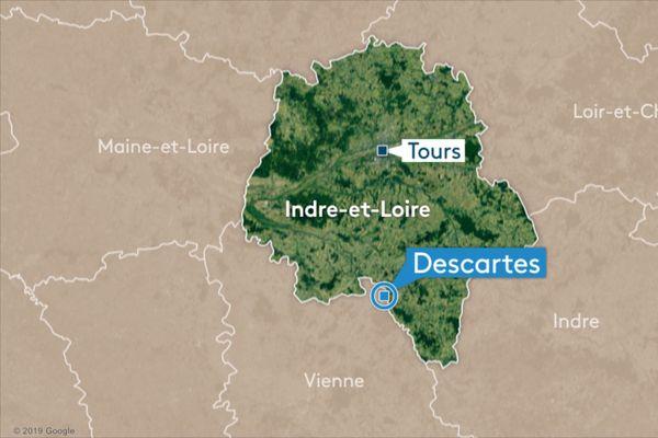 Descartes en Indre et Loire.