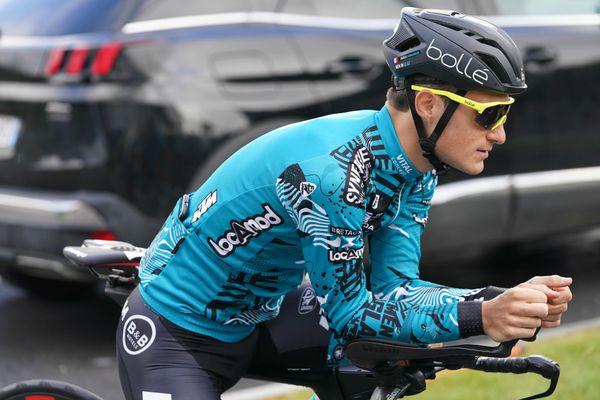 Franck Bonnamour, membre de l'équipe B & B Hôtels se voit élu Super combatif du Tour de France 2021