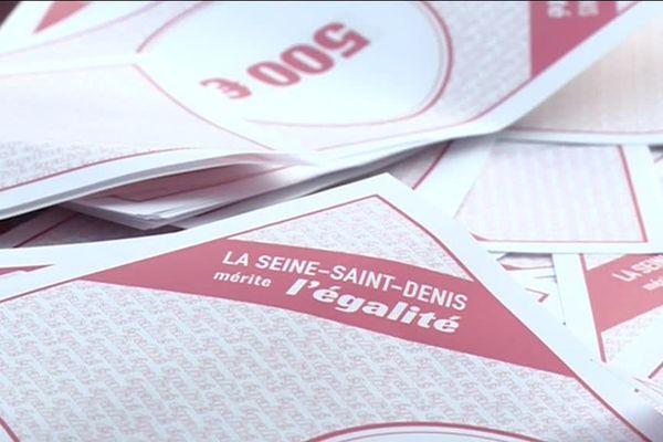 C'est avec des milliers de fausses coupures de 500 euros que les élus de la Seine-Saint-Denis ont tenté d'alerter le Gouvernement.