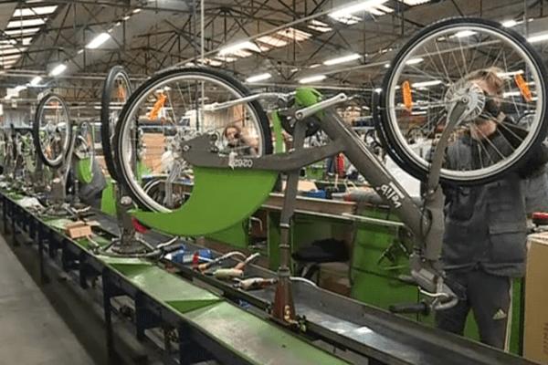 Le velib' deuxième génération est construit en Pays de la Loire