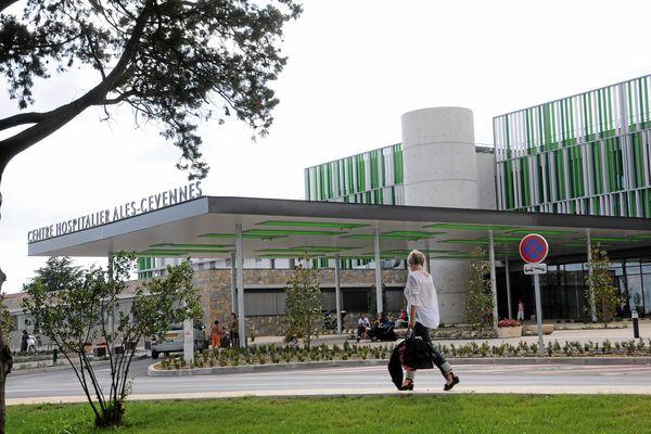 Le centre hospitalier d'Alès, dans les Cévennes gardoises.
