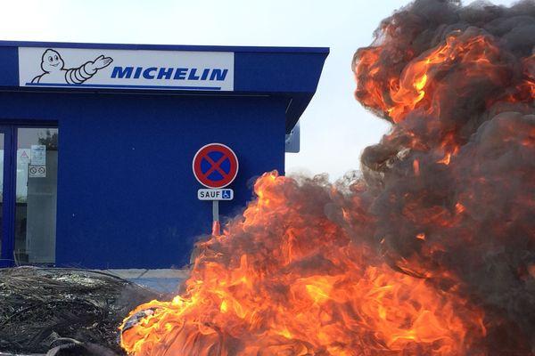 Michelin La Roche-sur-Yon, 50 ans d'histoire qui partent en fumée
