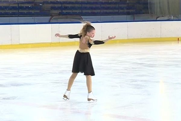 Ici, la catégorie junior en compétition danse libre.