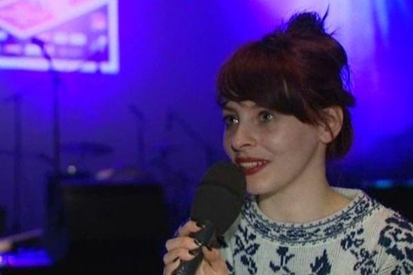Mélissa, chanteuse du groupe Granville