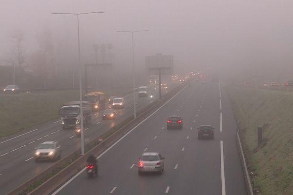 Le trafic était fluide ce jeudi 5 décembre sur l'A13 aux abords de Versailles.