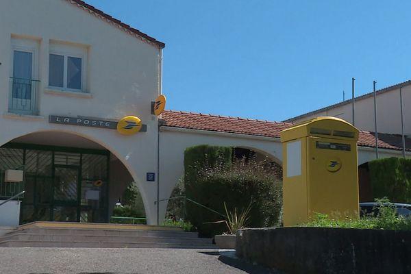 Saint-Privat-des-Vieux (Gard) - malgré le déconfinement, le bureau de poste restera fermée - mai 2020.