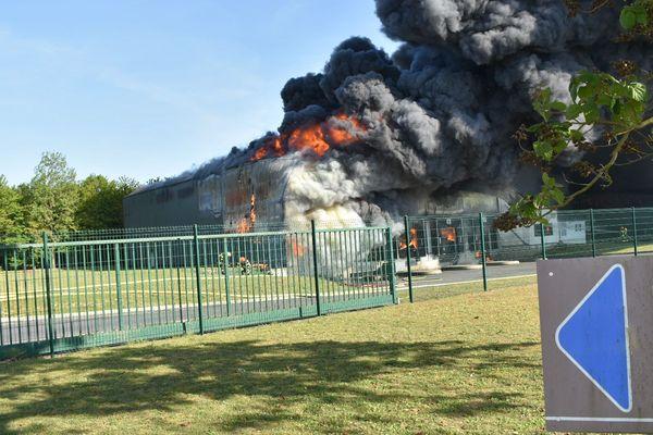 feu industriel