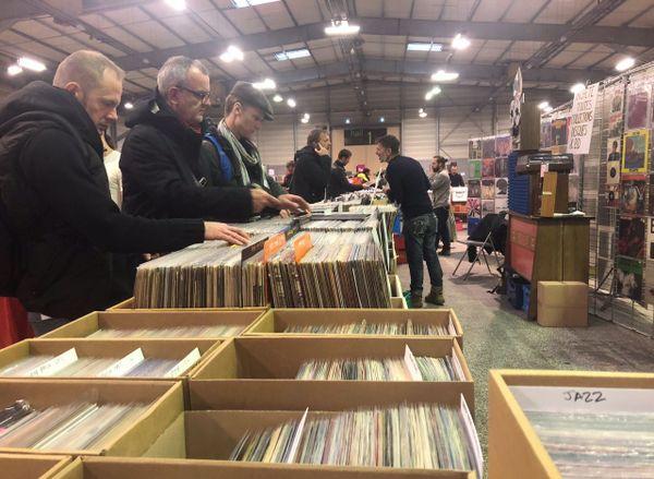 Plus d'un millions de disque exposés à la vente
