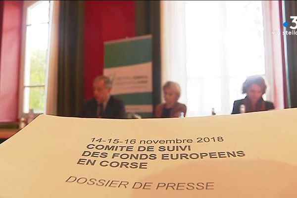 Le comité de suivi des fonds européens pour la Corse s'est réuni vendredi 16 novembre à Ajaccio.